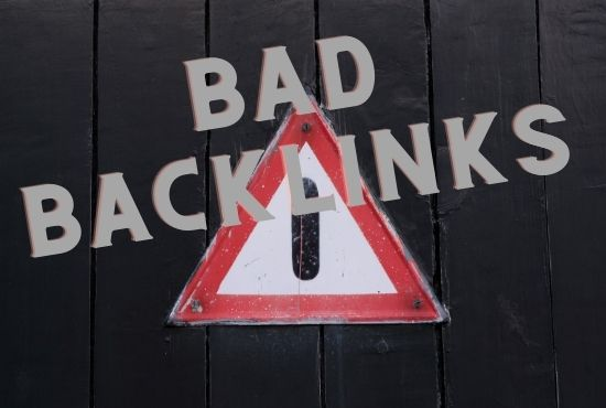 bad or harmful backlinks